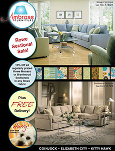 Ambrose Furniture Email Ad