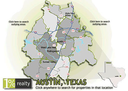 1 Percent Realty Map