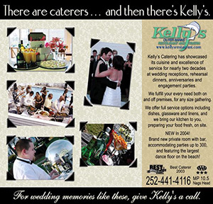 Kelly's Restaurant and Tavern Catering Ad