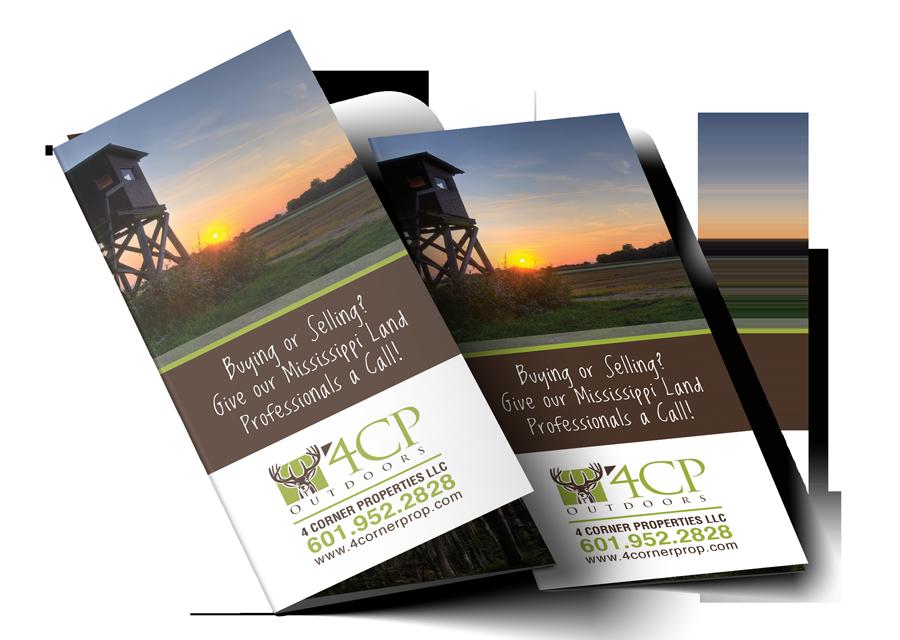 4 Corner Properties Trifold Brochure