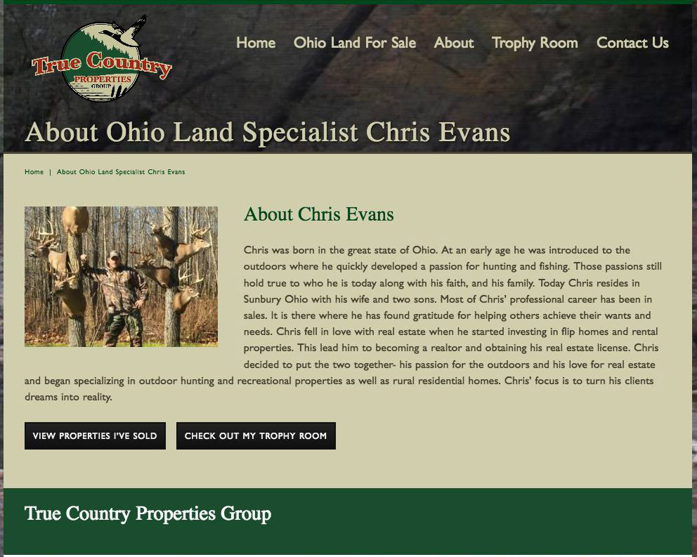 True Country Properties Group MLS Real Estate Website | Bold