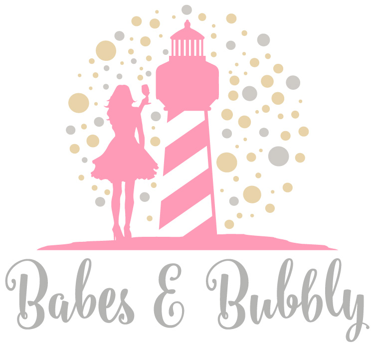Outer Banks Chamber of Commerce Babes & Bubbly Event Logo