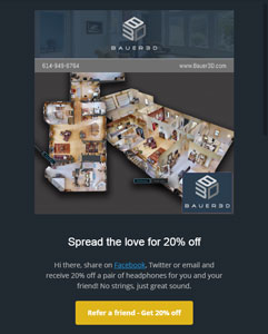 Bauer 3D Email Newsletter