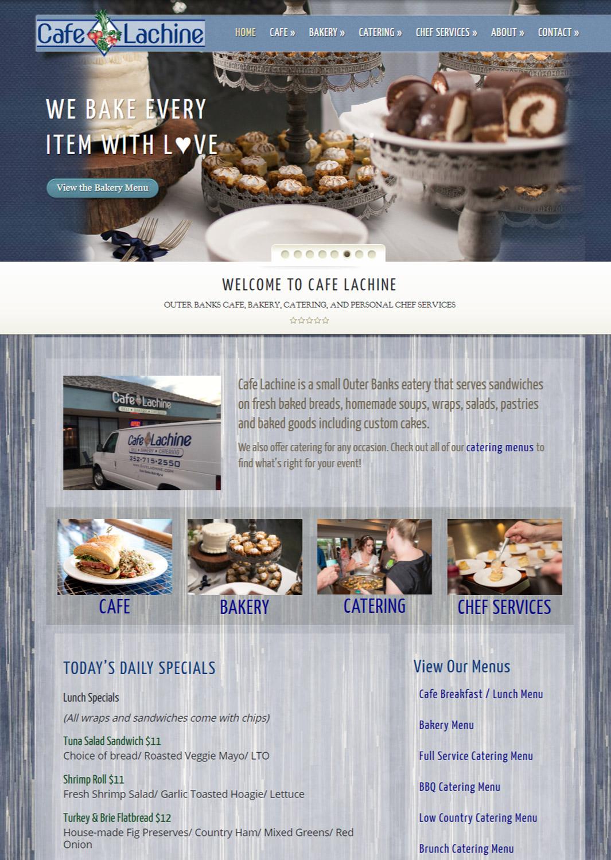 Cafe Lachine Website