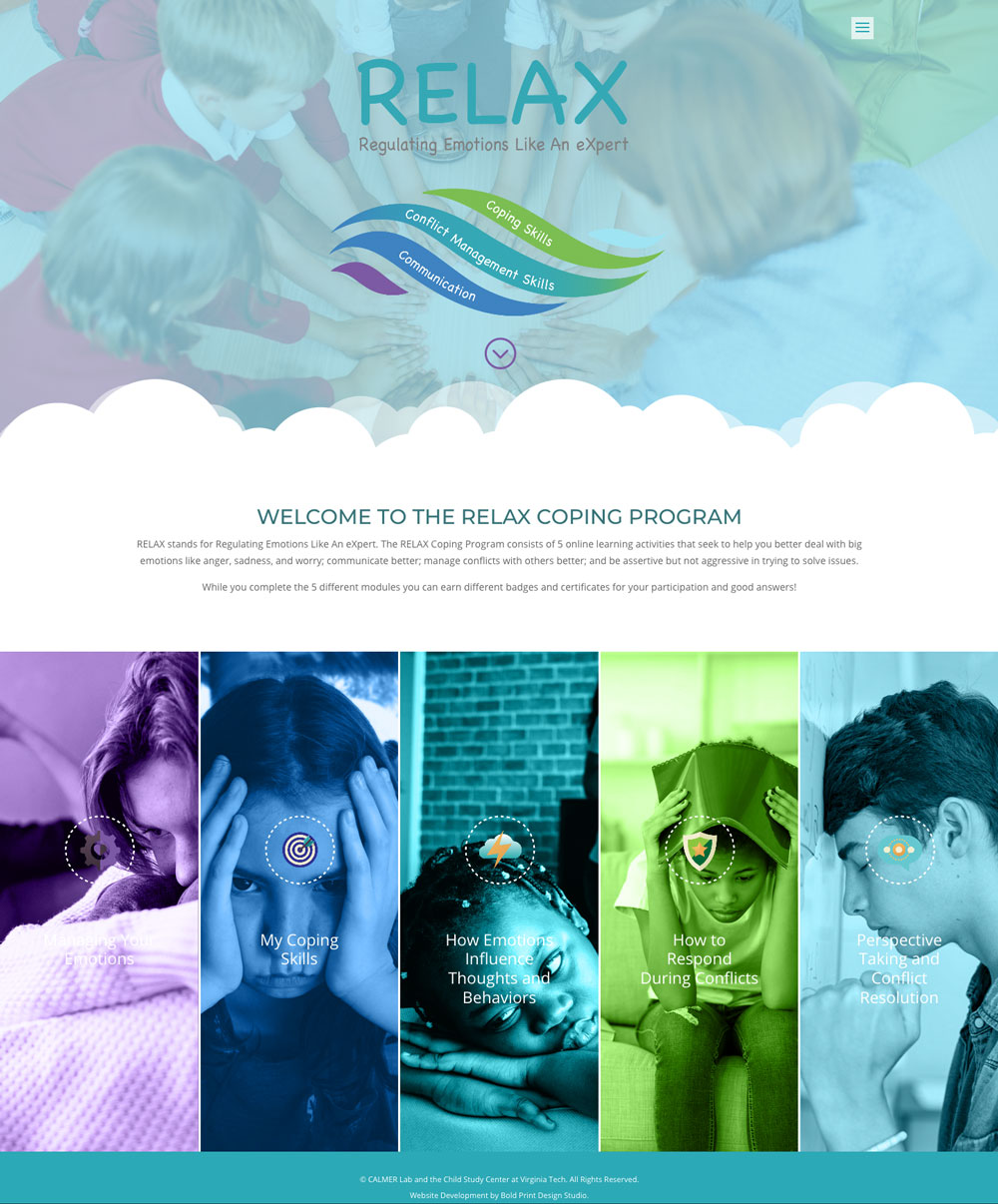 Calmer Lab Website