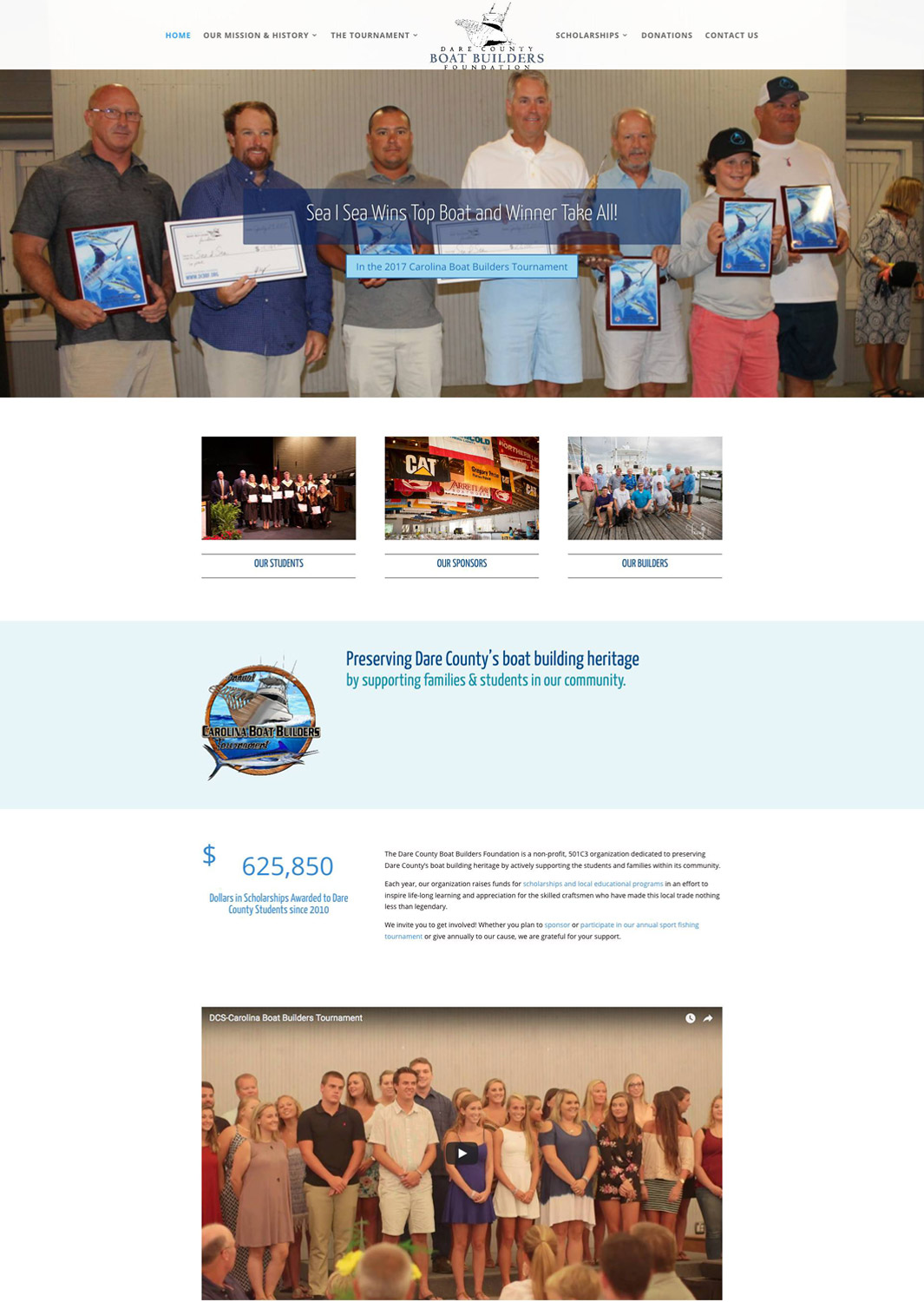 Dare County Boat Builders Foundation Website