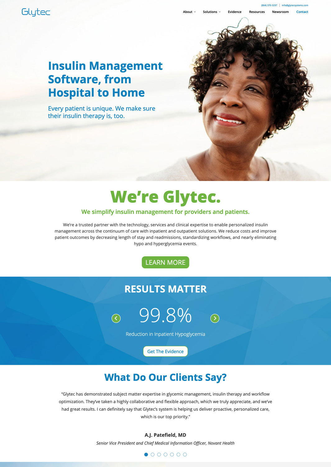 Glytec LLC Website