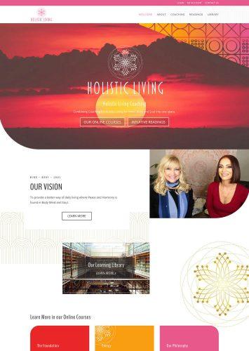 Holistic Living Website