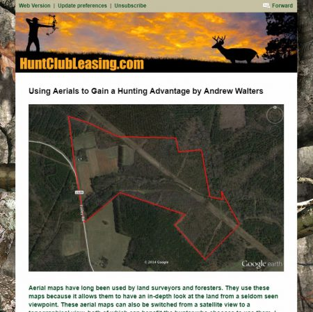 Hunt Club Leasing Email Newsletter