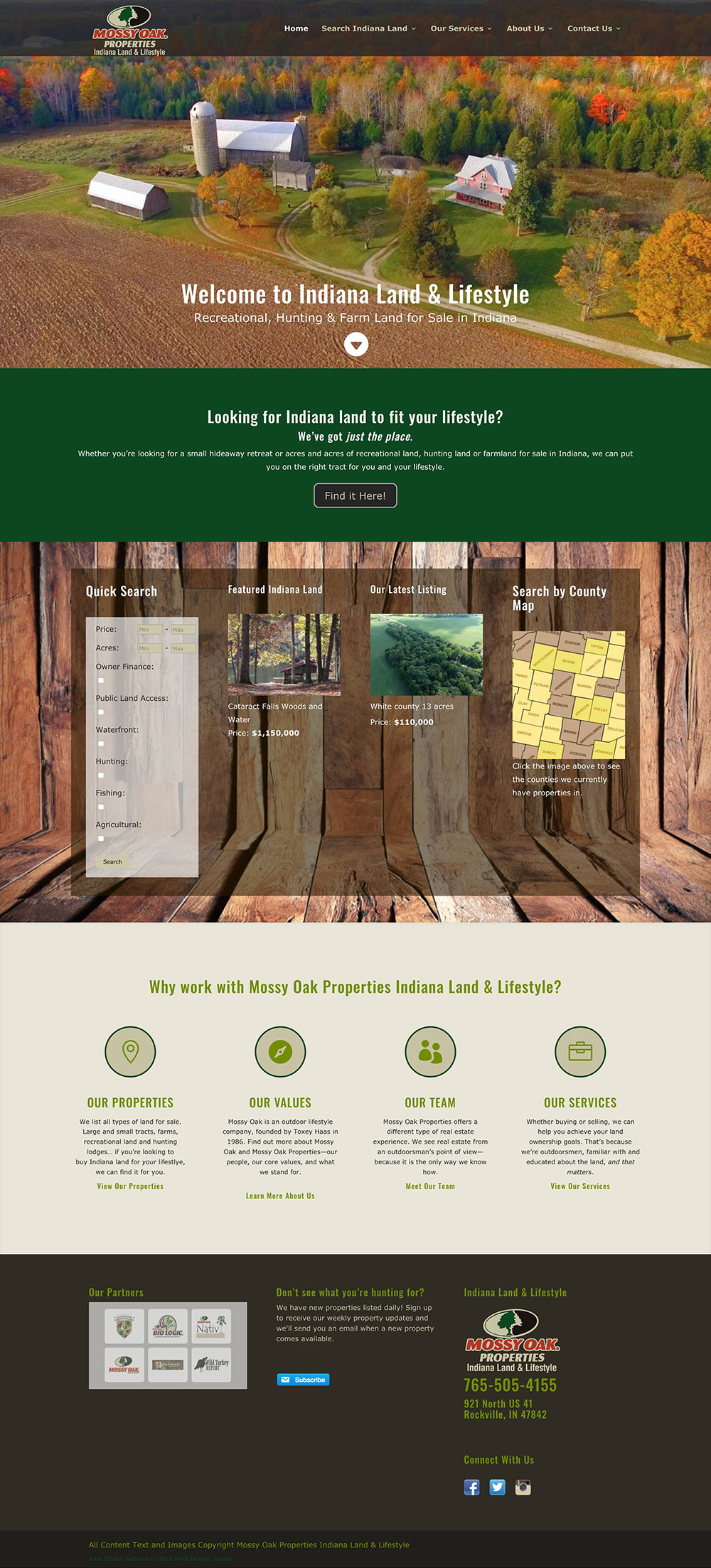 Mossy Oak Properties Indiana Land and Lifestyle