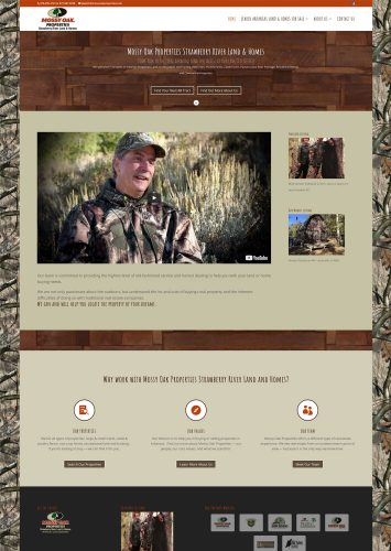 Mossy Oak Properties Strawberry River Land & Homes Real Estate Website