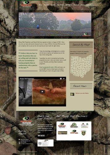 Mossy Oak Properties Land Agent Jon Collins Real Estate Website