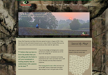 Mossy Oak Properties Land Agent Jon Collins Website