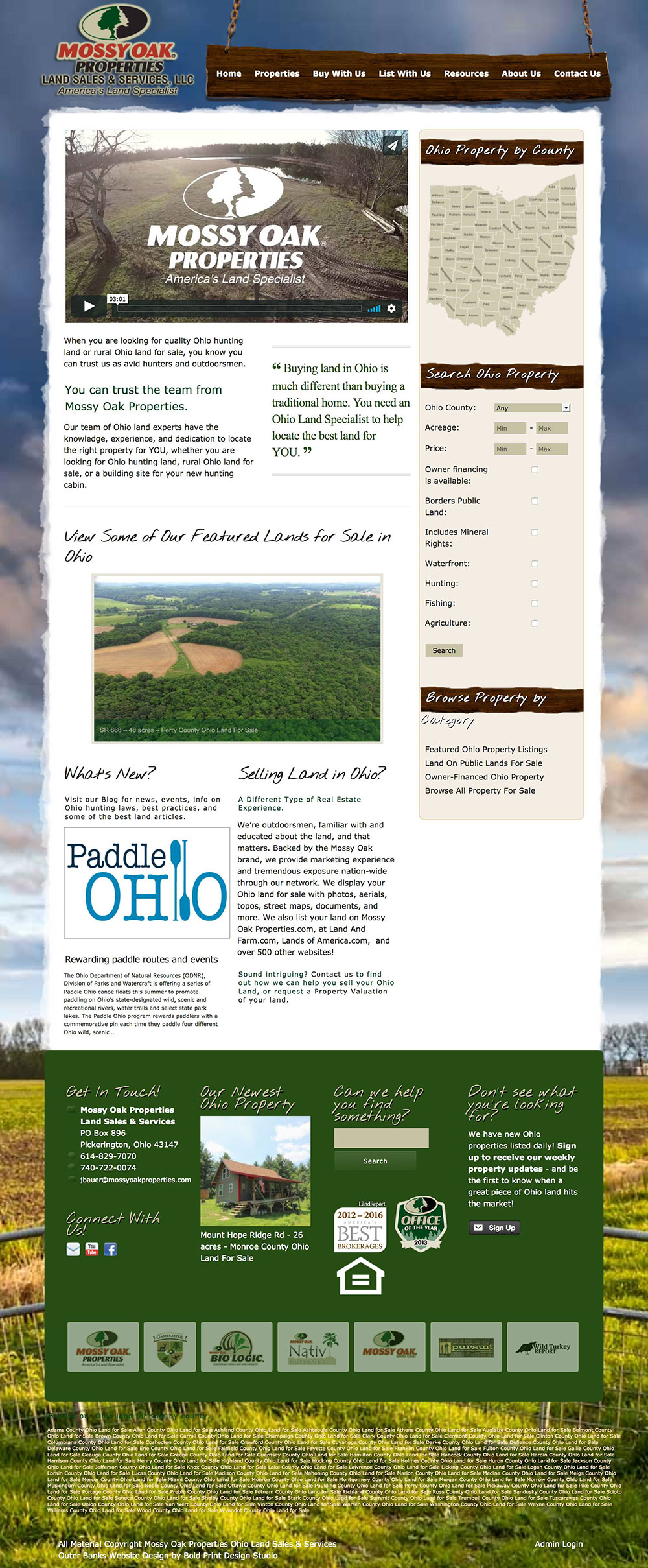 Mossy Oak Properties Ohio Land Sales and Services LLC