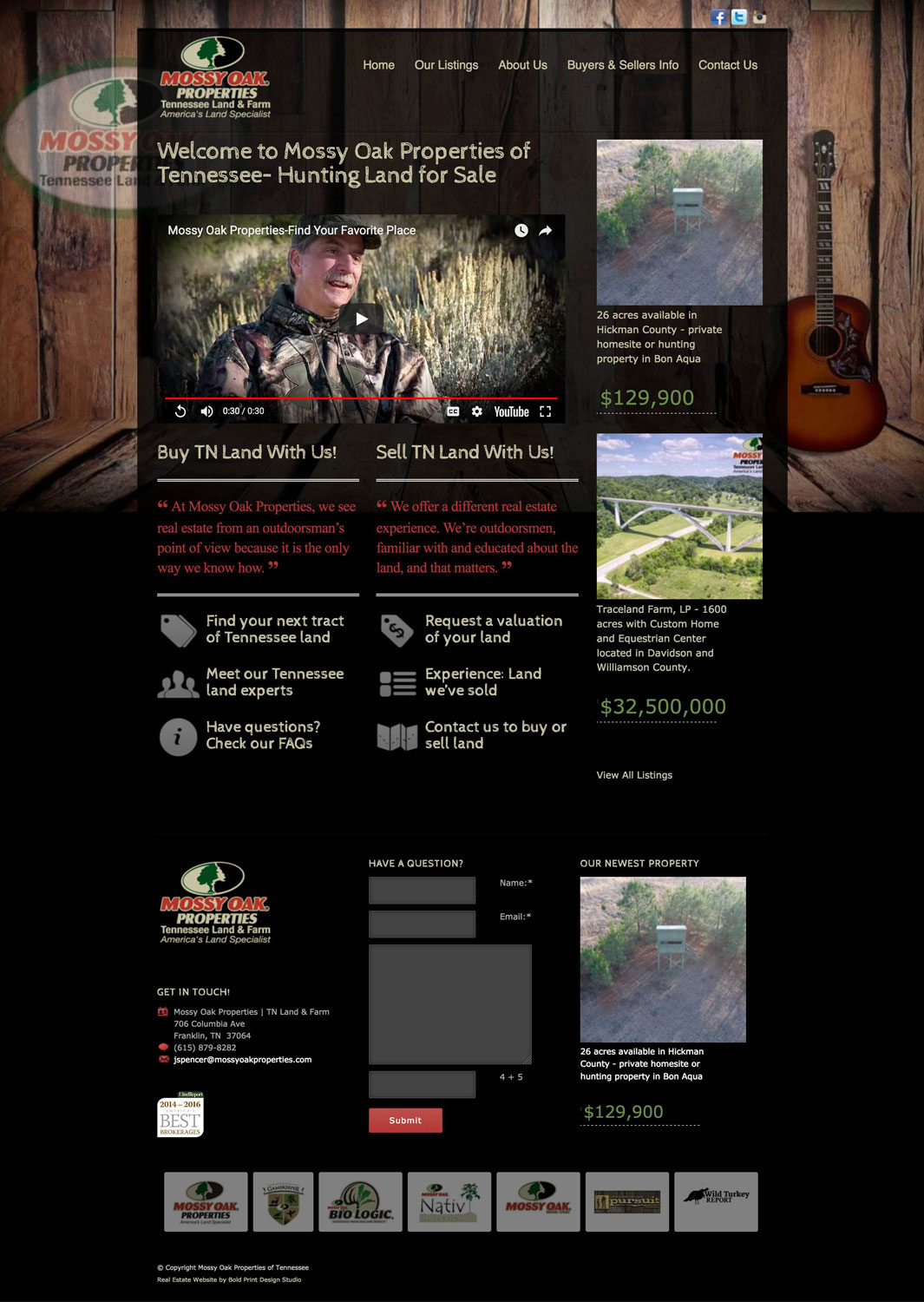 Mossy Oak Properties of Tennessee