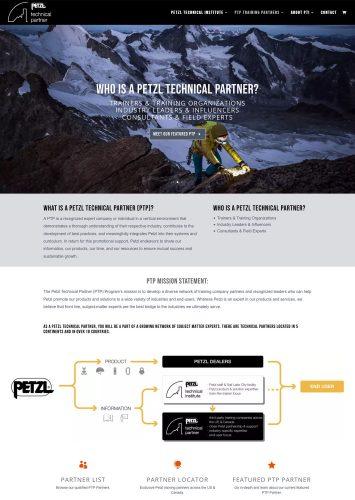 Petzl Technical Institute Website