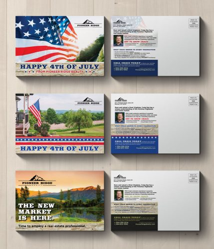 Pioneer Ridge Realty Postcard Campaign