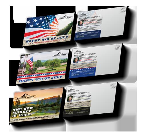 Pioneer Ridge Realty Postcard Compaign