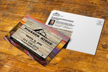 Pioneer Ridge Realty Postcard Mailer
