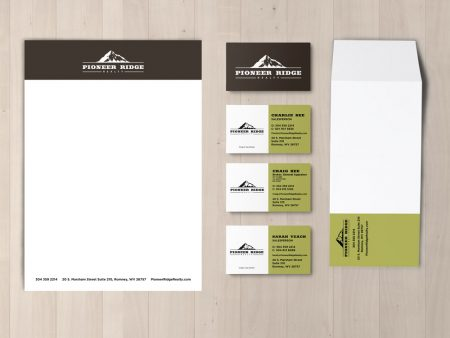Pioneer Ridge Realty Stationery Set