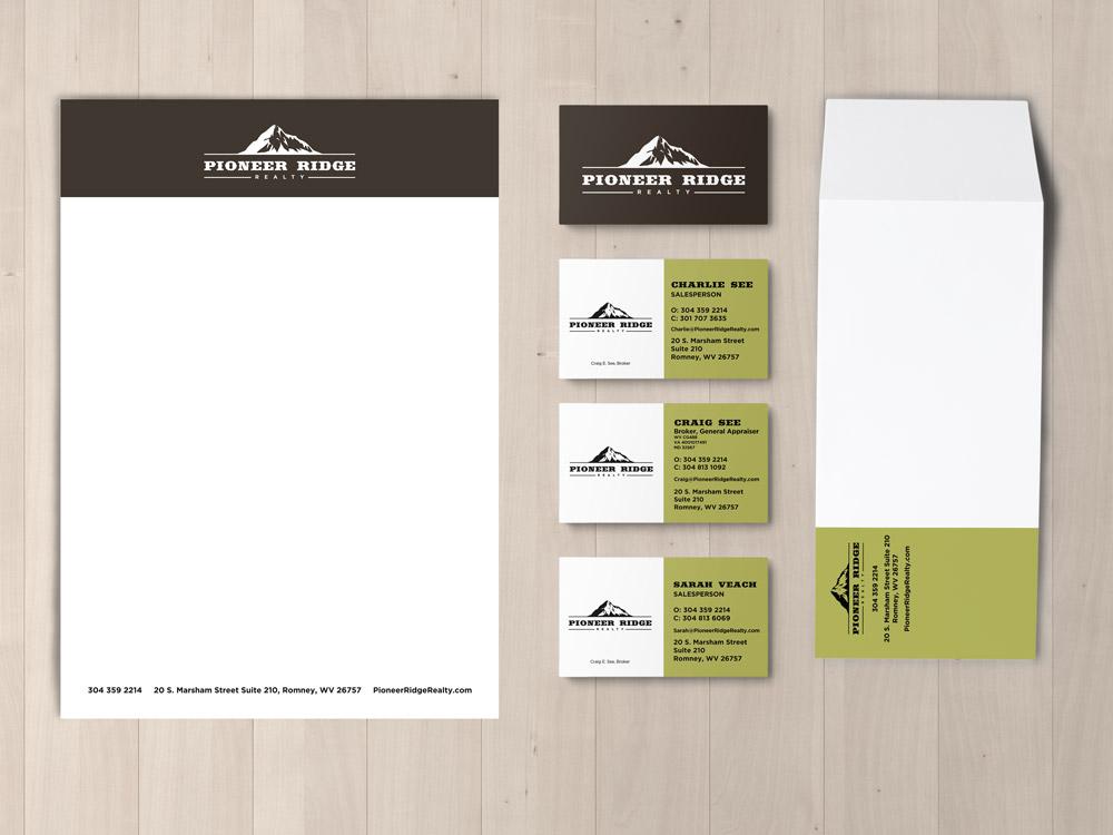 Pioneer Ridge Realty Stationery Set