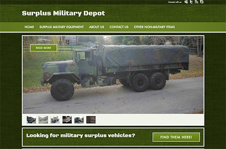 Surplus Military Depot
