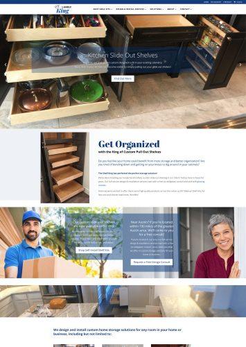 The Shelf King Ecommerce Website