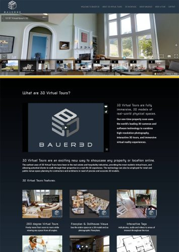 Bauer 3D Website