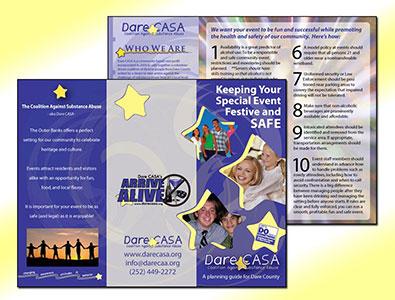 Arrive Alive Trifold Brochure