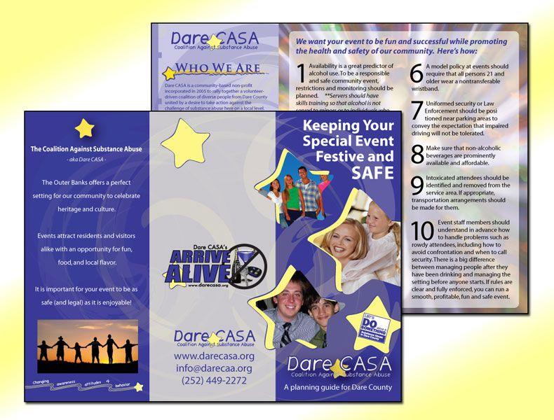 Dare CASA Arrive Alive Trifold Brochure