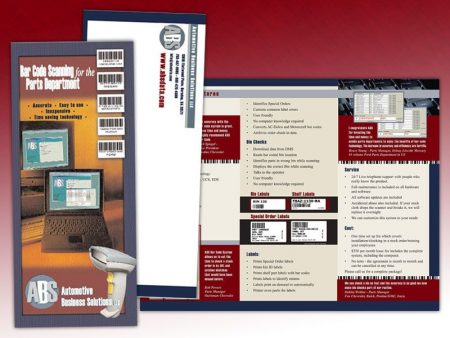 Automotive Business Solutions Trifold Brochure