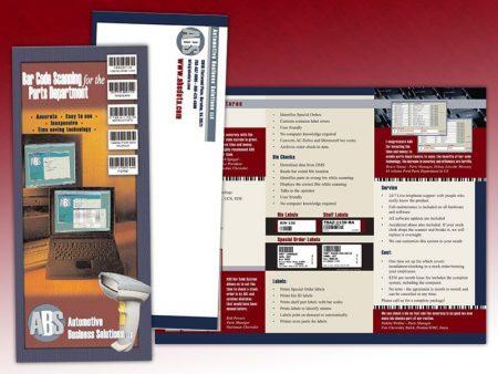 Automotive Business Solutions Trifold Brochure