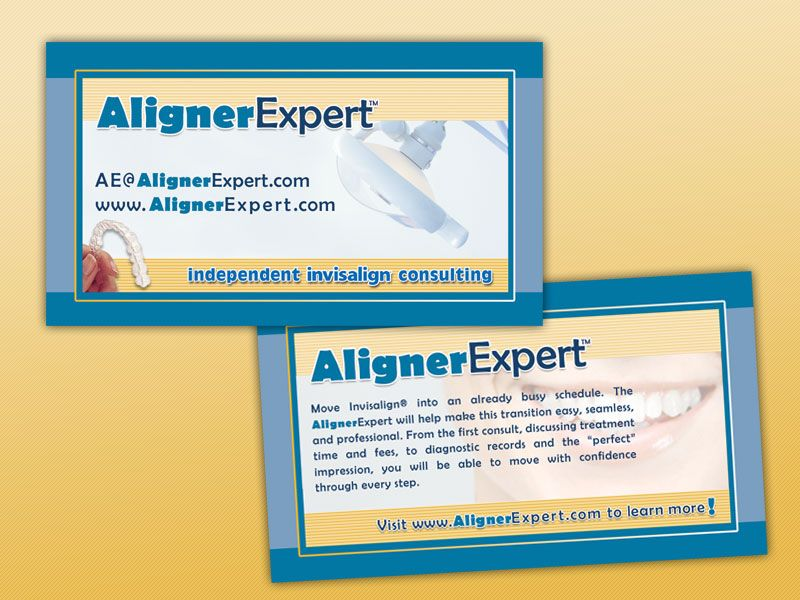 Aligner Expert Business Card