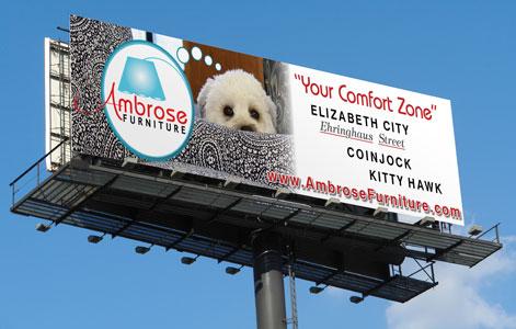 Ambrose Furniture Billboard