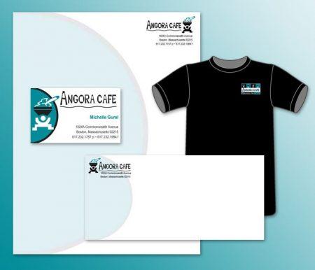 Angora Cafe Identity