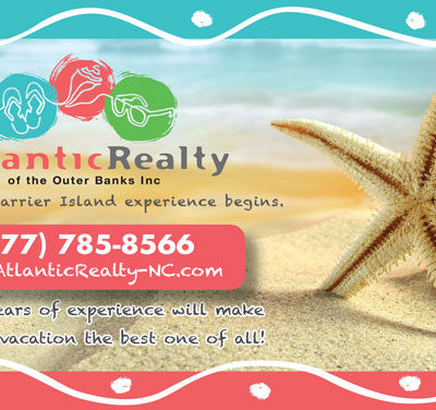 Atlantic Realty Outer Banks Forum Playbill Ad