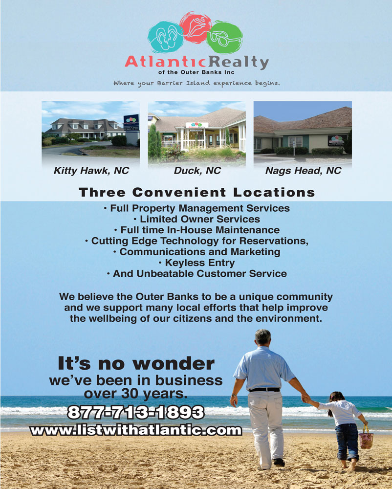 Atlantic Realty Parade of Homes Magazine Ad