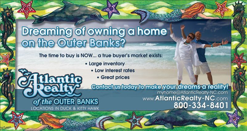 Atlantic Realty Newspaper Ad
