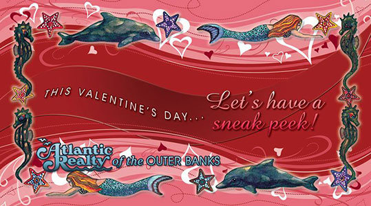 Atlantic Realty Valentine's Day Postcard