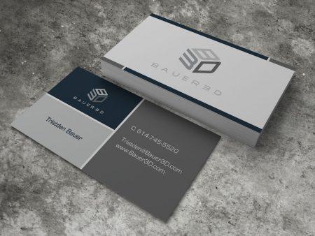 Bauer 3D Business Card
