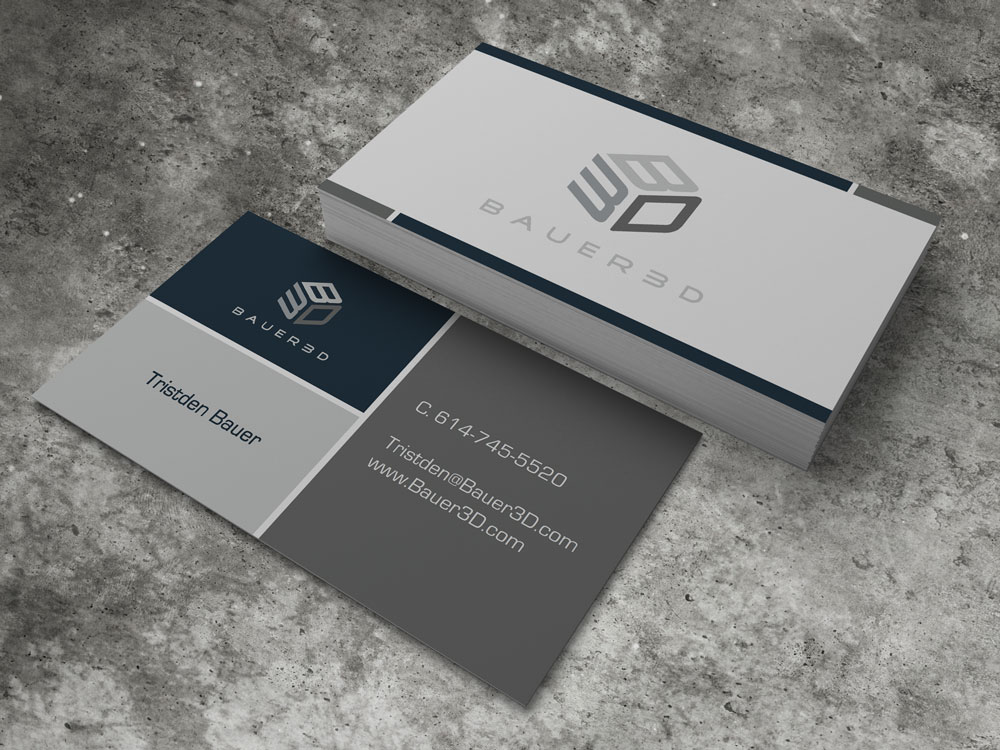Bauer 3D Business Card