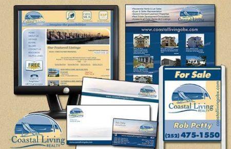 Coastal Living Realty Branding