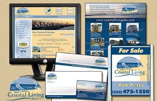 Coastal Living Realty Branding