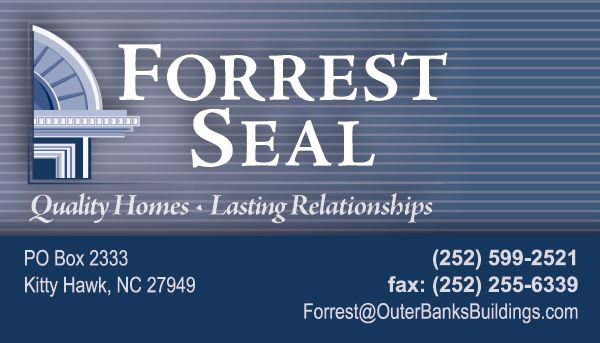 Forrest Seal Business Card
