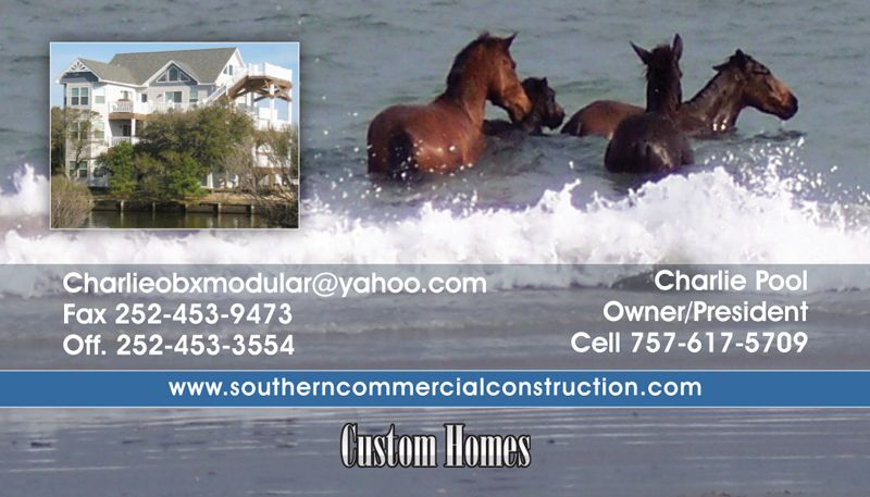 Southern Commercial Construction Business Card