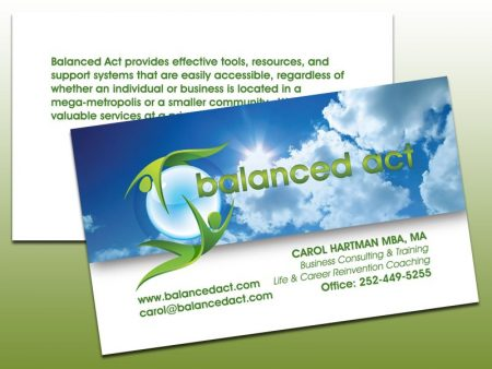 Balanced Act Business Cards