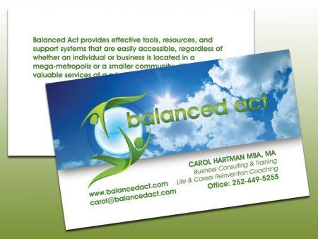 Balanced Act Business Cards
