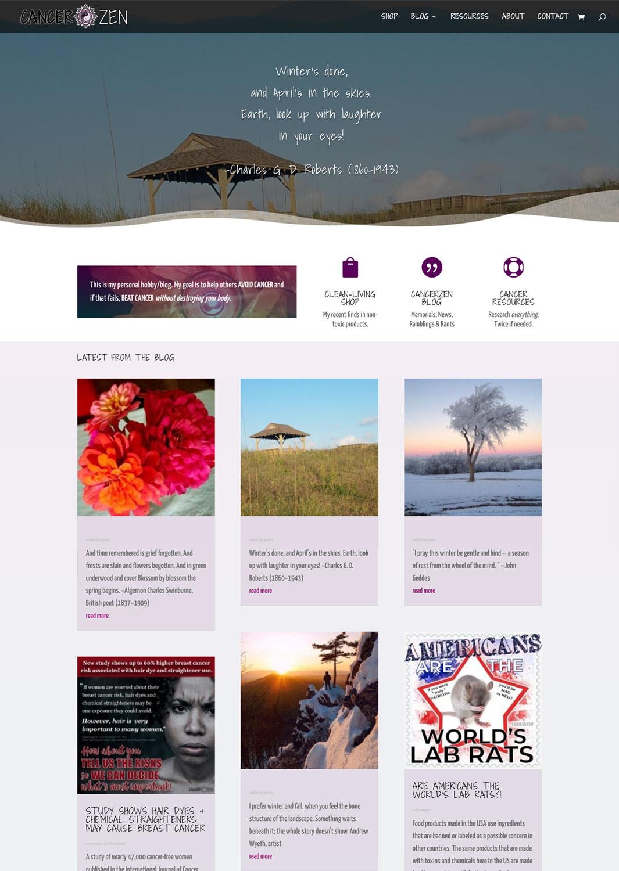 Cancerzen Website