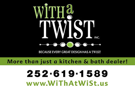 With a Twist Vehicle Magnet
