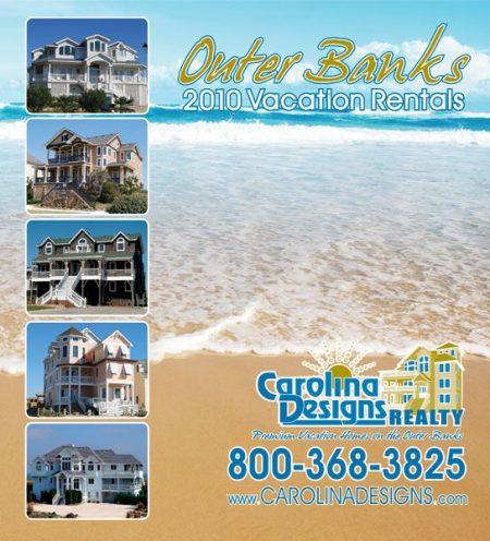 Carolina Designs 2010 Vacation Rental Catalog